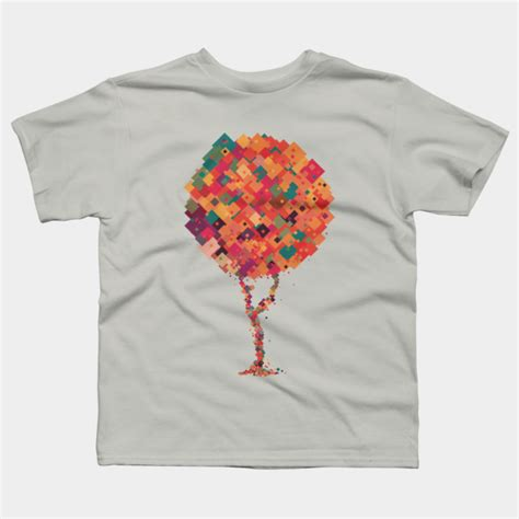 Colourful Squarer Shirt colorful square tree t shirt by definitelynotfr design by