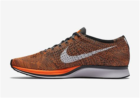 Color Combination With Orange nike flyknit racer total orange sneaker bar detroit