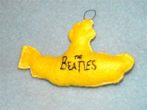 yellow submarine ornament 183 an object plushie 183 sewing on
