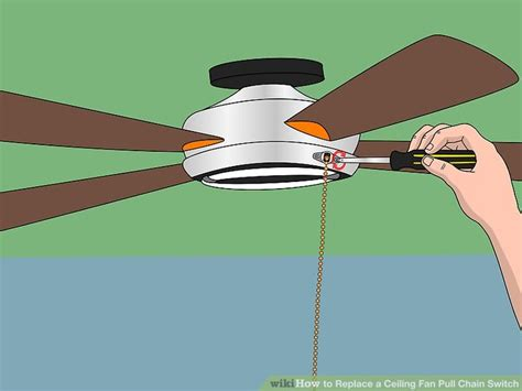 how to replace a ceiling fan how to replace a ceiling fan pull chain switch with pictures