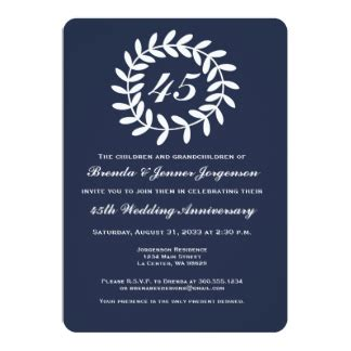 45th wedding anniversary gifts t shirts posters other gift ideas zazzle