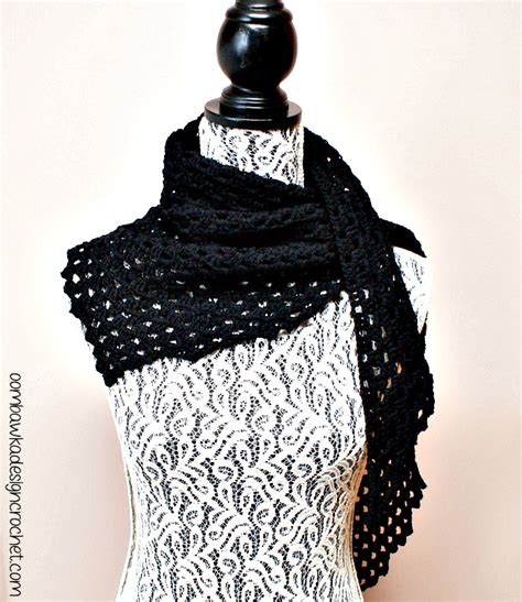 comfort shawl dark comfort shawl free pattern oombawka design crochet