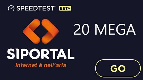 Speed Test 20 Mega by Speed Test 20 Mega Siportal