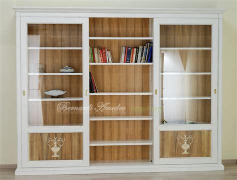 librerie scorrevoli librerie in legno 8 librerie