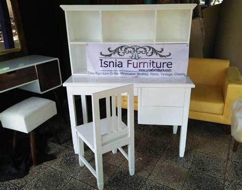 Meja Belajar Cat Duco meja belajar anak kayu mahogany cat duco indonesia furniture teak furniture manufacturer