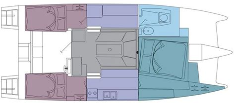 catamaran boat layout gemini 105mc catamaran layout caroline laviolette