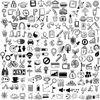 free doodle icons doodle vectors photos and psd files free