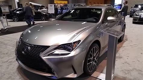lexus sport 2017 black 2017 lexus rc 350 f sport youtube