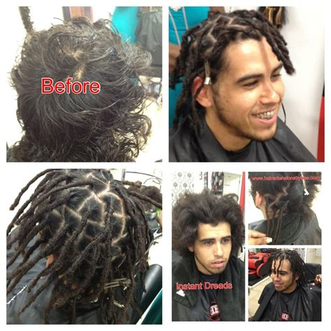 pre dreaded hair extensions instant dreads will work with any texture hair doesn t