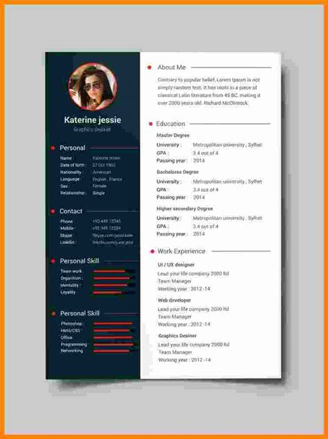 10 accounting resume templates free word pdf samples