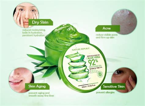 Nature Republic Soothing Gel Effects nature republic moisture aloe vera 92 end 1 6 2018 2 15 am