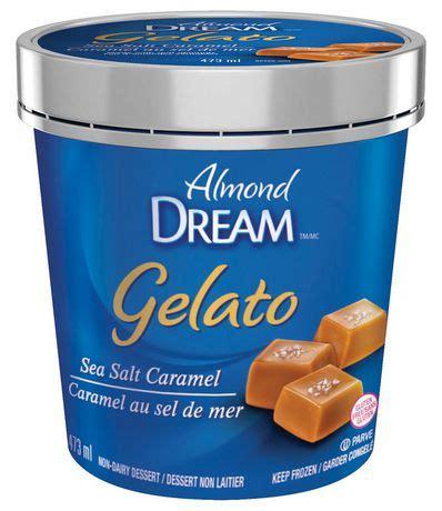 salt ls walmart canada dream gelato sea salt caramel non dairy frozen dessert