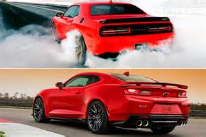 totd you chevrolet camaro zl1 or dodge challenger