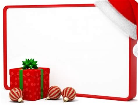Holiday Christmas Gift Present Frame Backgrounds For Powerpoint Templates Gift Powerpoint Template
