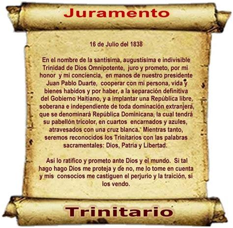 biografia corta de juan pablo duarte comunicando el evangelio el juramento trinitario