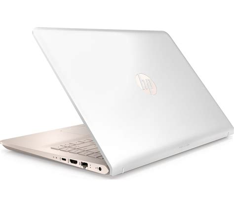Hp 14 Bs015tu Notebook White hp pavilion 14 bk070sa 14 quot laptop white gold