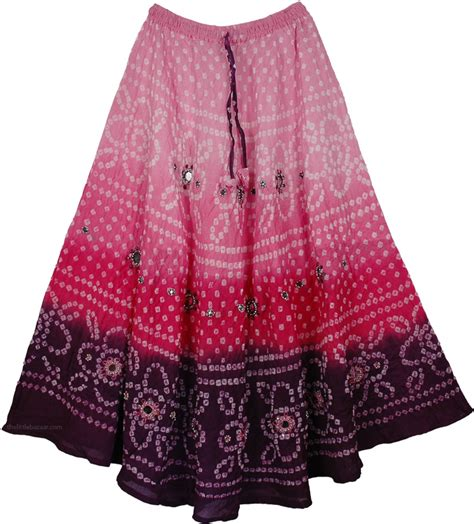 pink purple tie dye mirrors skirt sequin skirts sale