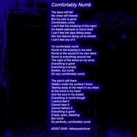 comfortably numb comfortably numb wallpaper www imgkid com the image