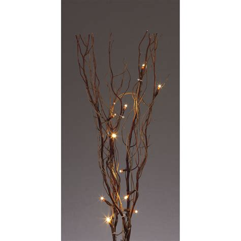 twig l 120cm decorative twig lights in black
