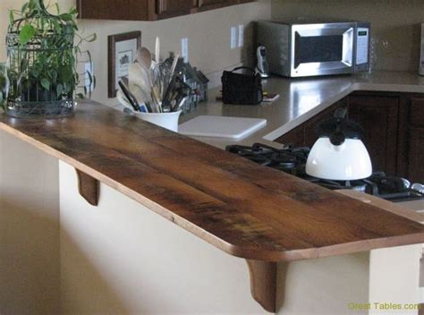 oak bar tops wormy chestnut table with metal legs reclaimed wood
