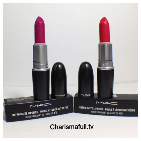 mac matte lipstick mac retro matte lipsticks in relentlessly and flat out