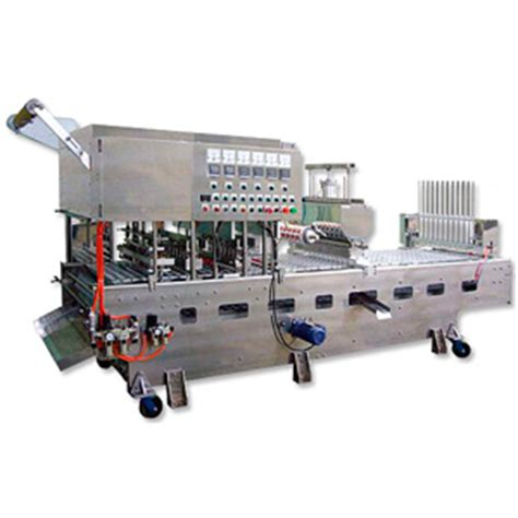 Tray Bagasi Innova Well Co Taiwan 1 Automatic Cup Tray Filling Sealing Machine Sunward