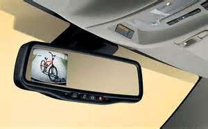 2011 chevrolet equinox rear view mirror with back up view