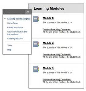 module template blackboard 9 1 faculty resources