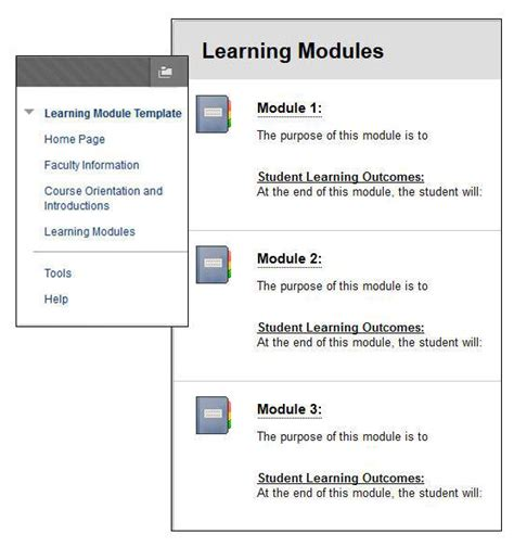 module template course module template templates data
