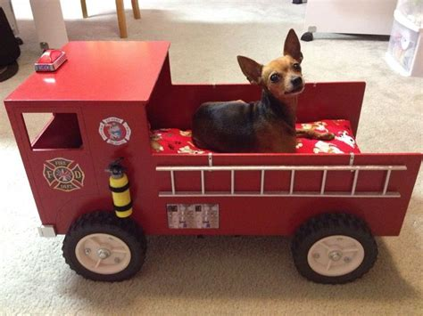 firetruck bedding small fire truck dog bed fire related pinterest fire