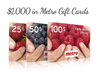 Metro Sweepstakes - www metrosurvey ca enter metro survey sweepstakes to win 1 000 in metro gift