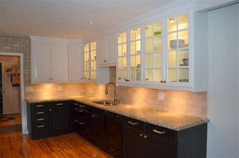 ikea kitchens lidingo white and ramsjo black brown