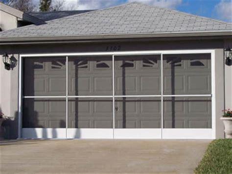 Sliding Garage Door Screens by Garage Screen Doors Sliding Garage Screen Doors Garage Aire Slider Brothers