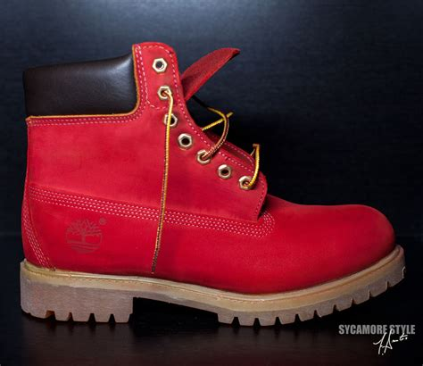 colored timberlands custom dyed sycamore style quot quot riz timberland