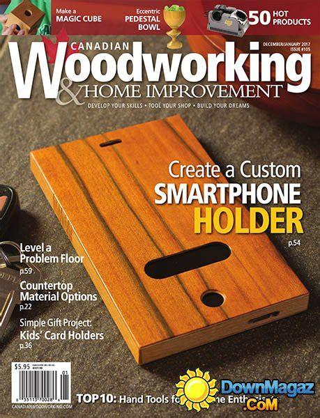 canadian woodworking home improvement december