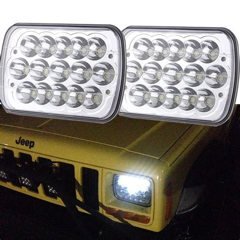 Jeep Xj Led Headlights Jeep Xj Headlights Jeep Free Engine Image For
