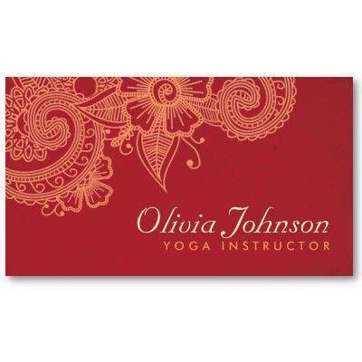 mehndi business cards template modern henna design business cards business card design