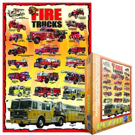 Amerikanisches Auto Kaufen by Amerikanische Feuerwehrautos 100 Teile Eurographics