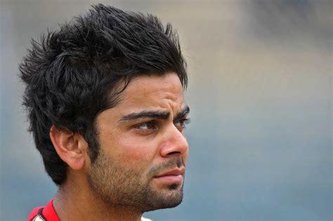 virat koli hair style virat kohli hairstyle images cricketer pics