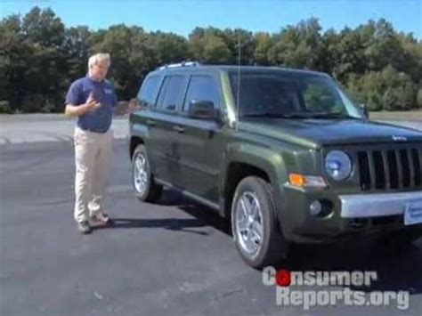 Jeep Patriot Consumer Reports 2008 2010 Jeep Patriot Review From Consumer Reports