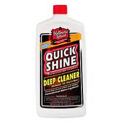 quick shine hardwood deep cleaner wax remover 800ml