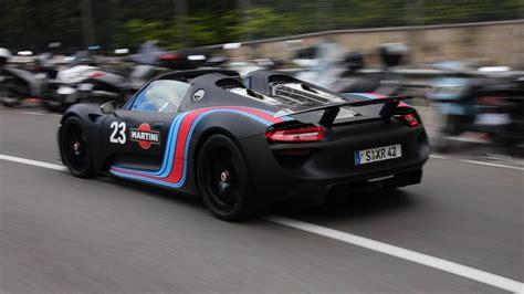 Porsche 918 Spyder Matte Black Matte Black Porsche 918
