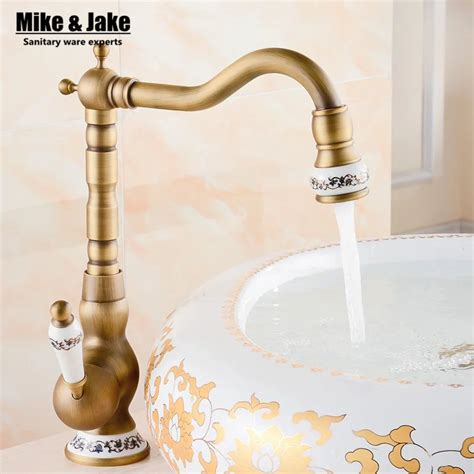 Antique Kitchen Sink Faucets by 2015 Bathroom Antique Tap Basin Faucet Vintage Kitchen