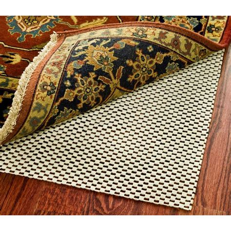 rug non slip pad rug padding grippers rugs the home depot