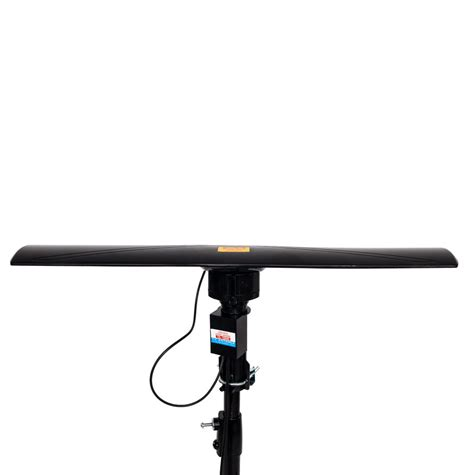 leadzm  miles outdoor amplified hd tv antenna high gain