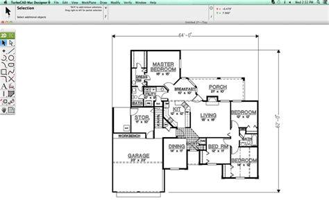 Program To Draw Floor Plans turbocad mac designer 2d v10