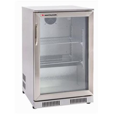 Bar Fridge matador 118l stainless steel single door bar fridge i n