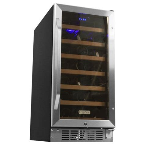 edgestar wine cooler edgestar wine cooler edgestar 34 bottle free standing dual zone wine cooler ideas let