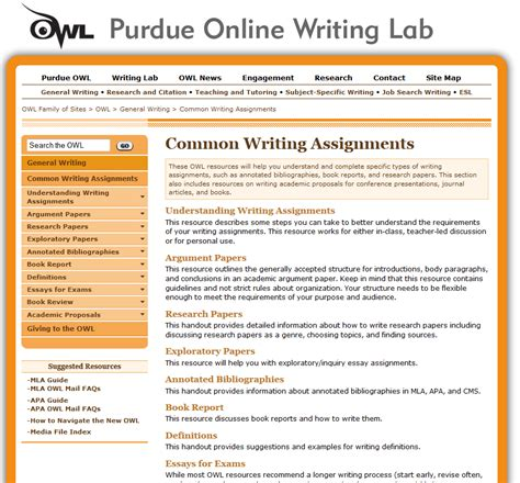 purdue owl research paper purdue writing lab educator review
