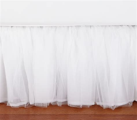 pottery barn bed skirts tulle bed skirt pottery barn kids
